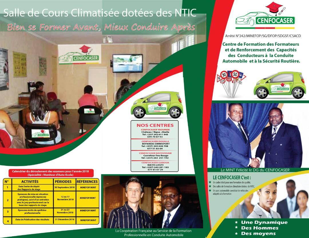 Monitoring Des Autos Ecoles Cenfocaser Reunis Les Conditions De
