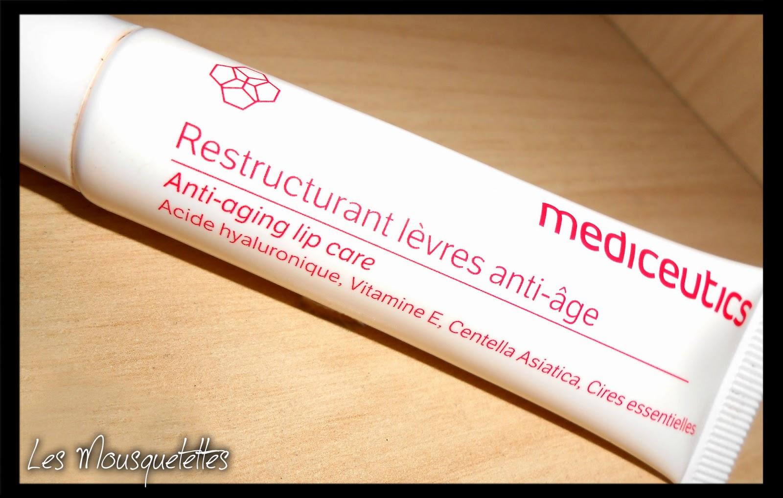 Baume à Lèvres Restructurant Anti-âge Mediceutics - Les Mousquetettes©