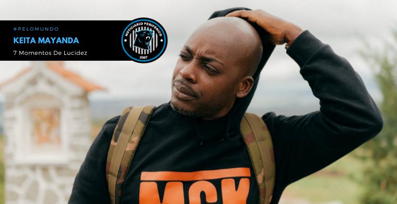 """""""7 Momentos De Lucidez"""", do rapper angolano Keita Mayanda sai sexta-feira (04/12)"""