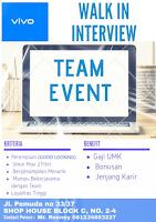 Walk In Interview at VIVO Indonesia Surabaya Juli 2020