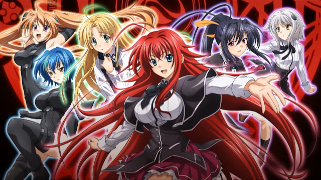 High School DxD BorN BD Sub Indo
