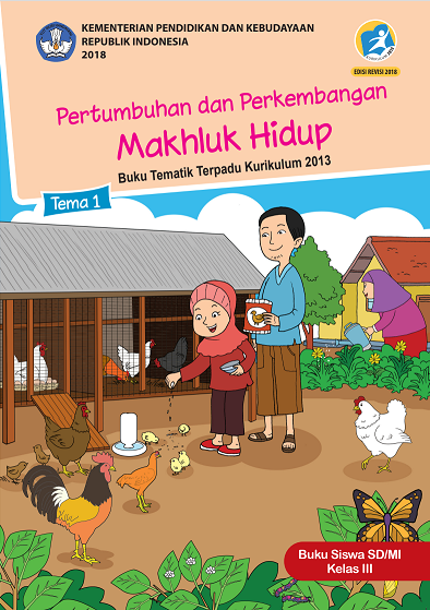 Download Buku Siswa Kelas 3 Kurikulum 2013 (K-13) Edisi Revisi 2018 (PDF)