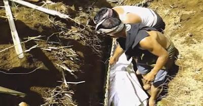 Prosesi penguburan mayat paling unik