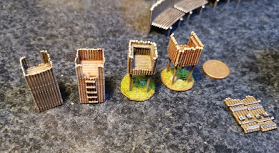 Small watchtowers, resin printed/casted, 15mm scale,  4 EUR each picture 3