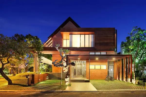 Desain Rumah Tropis Modern yang Nyaman