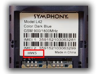 synphony l42 hw5 flash file