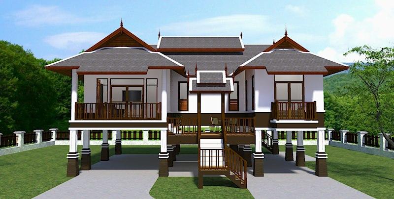 ออกแบบบ้านแบบไทยๆอย่างไรให้ ถูกใจ ถูกหลัก ประหยัดพลังงาน