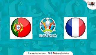 بث مباشر مباراة فرنسا والبرتغال مباشرة في كأس أمم أوروبا