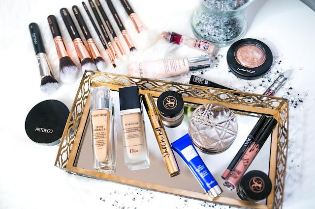 Mój codzienny makijaż Glow/ Aktualizacja - Spis kosmetyków - Czytaj więcej