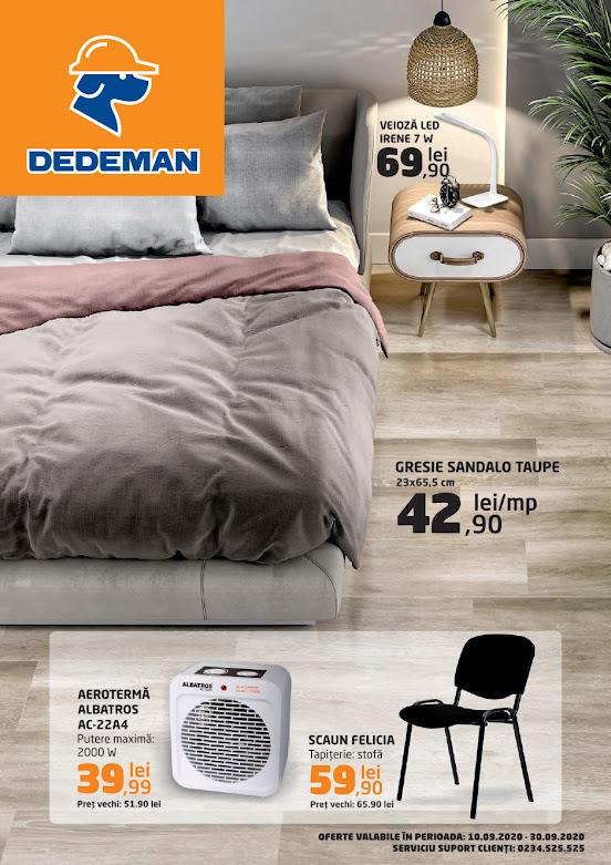 DEDEMAN Catalog - Brosura 10-30.09 2020