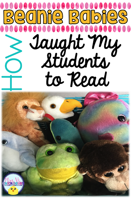 Tips for teaching students to read in guided reading and small groups through the use of beanie babies as reading strategies