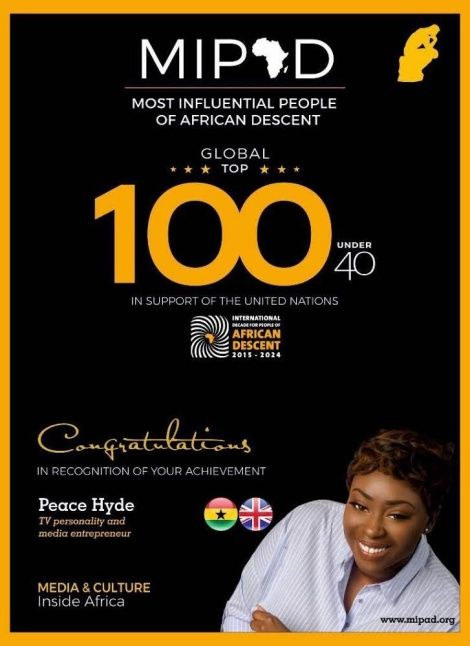 Peace Hyde, Don Jazzy, Linda Ikeji in UN's list of 'Most Influential Persons' 2017