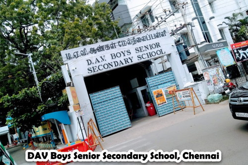 DAV Boys Senior Secondary School, Chennai