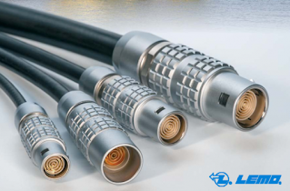Lemo S and E Series Multi Concentric Contact Connectors