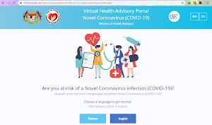 Cara Mengetahui Anda Berisiko Menghidapi Jangkitan Novel Coronavirus (COVID-19)