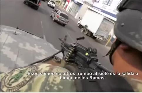 VIDEO; Asi son los operativos en Convoy de Militares a ranchos del Cártel de Sinaloa tras emboscada en Culiacán