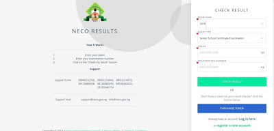 NECO GCE (Nov/Dec) Result Checker 2018/2019 [PHOTOS]