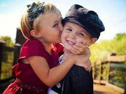 Top latest hd Baby Boy to Girl frist kiss images photos pic wallpaper free download 54