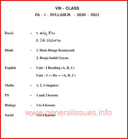 8th_class_FA-1_Syllabus_2020-2021