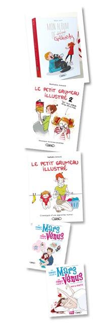 Une sélection de livres avec des images et des dessins que c'est ton Bouffon qui les a faits