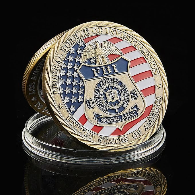 USA FBI Special Agent Coin Collectible 1pcs