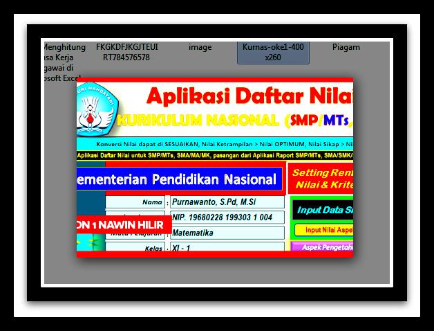 Download Aplikasi Hitung Usia Siswa Terbaru Otomatis