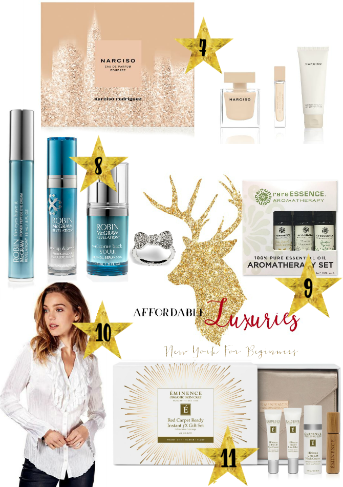 Holiday gift ideas with affordable luxuries under 100 dollars