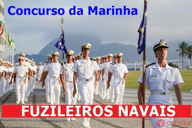 Marinha abre concurso para fuzileiros navais com 960 vagas