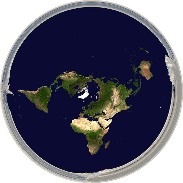 Diagrama de terra plana