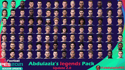 PES 2021 Abdulaziz's legends Pack Update