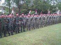 Denma Brigif Mekanis 6 Kostrad, Hadiri Apel Nusantara Bersatu