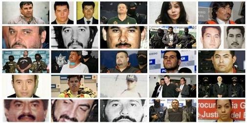 La historia de los apodos de los capos del Narcotrafico
