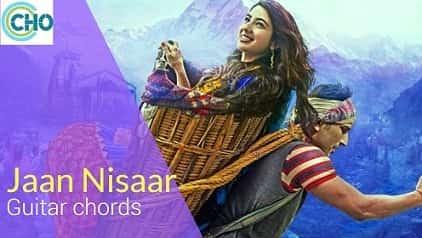 JAAN NISAAR (Asees) guitar chords FEMALE VIRSION | Asees Kaur | Kedarnath