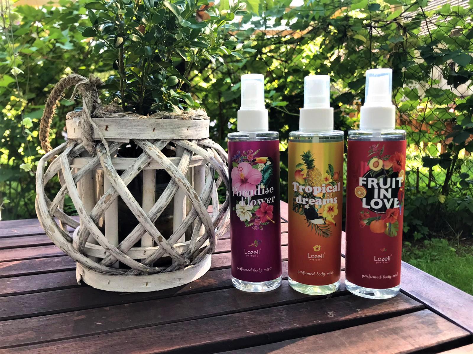 Mgiełki do ciała od Lazell Parfums