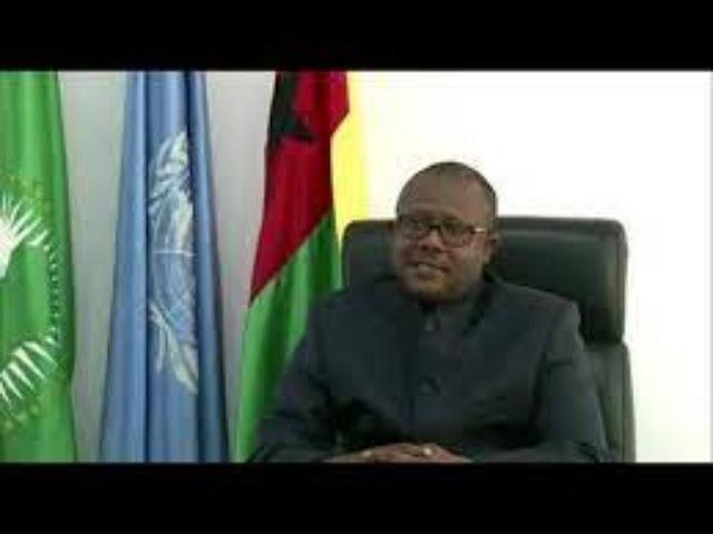 Inilah Pidato Presiden Guinea-Bissau, Úmaro Sissoco Embaló di Debat Umum PBB ke 75