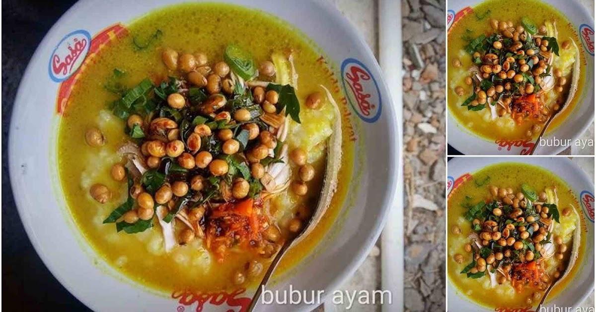 Resep Bubur Ayam Bandung RiceCooker Enak dan Gurih