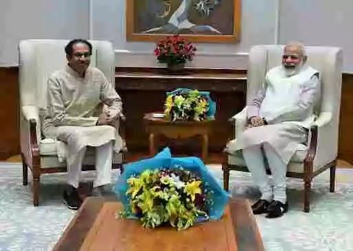 Uddhav and Narendra Modi