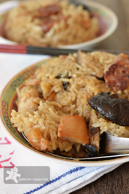 easy lo mai gai glutinous rice chicken
