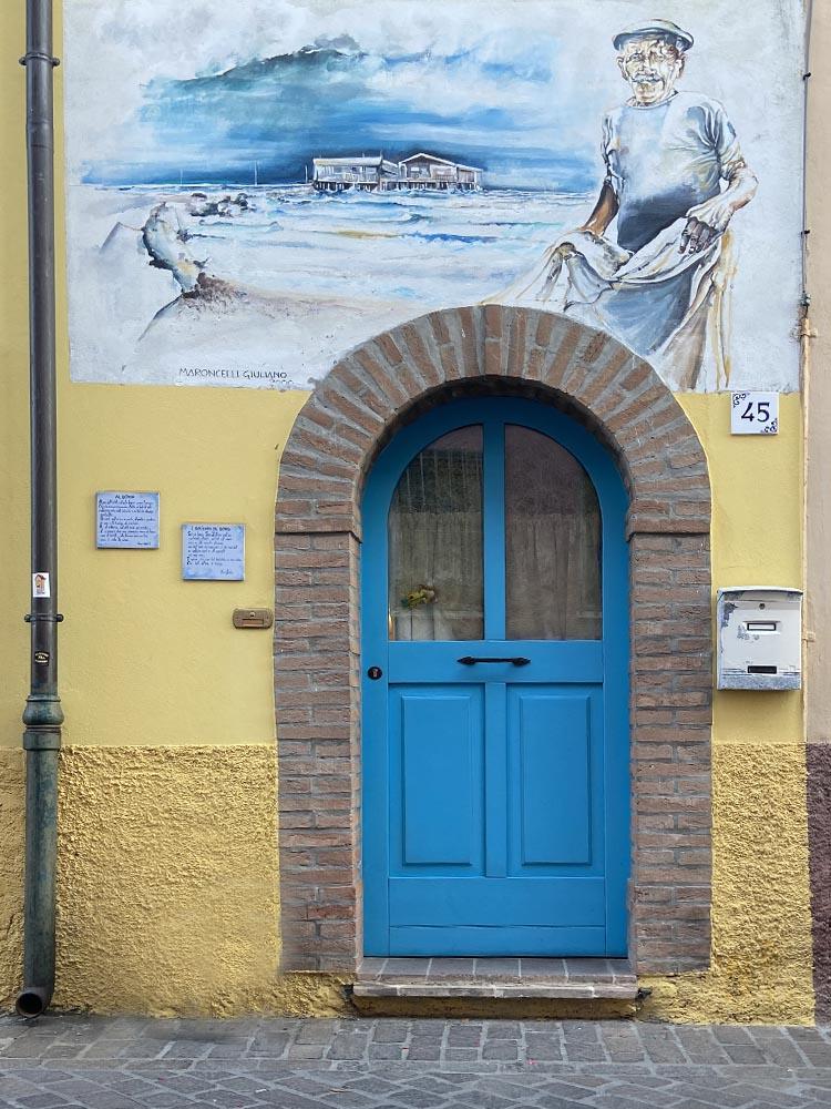 I murales di Borgo San Giuliano Rimini