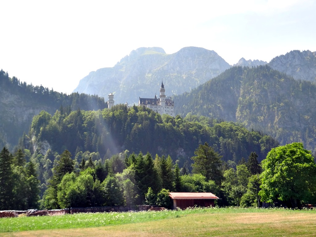 Castelos de Neuschwanstein e de Hohenschwangau