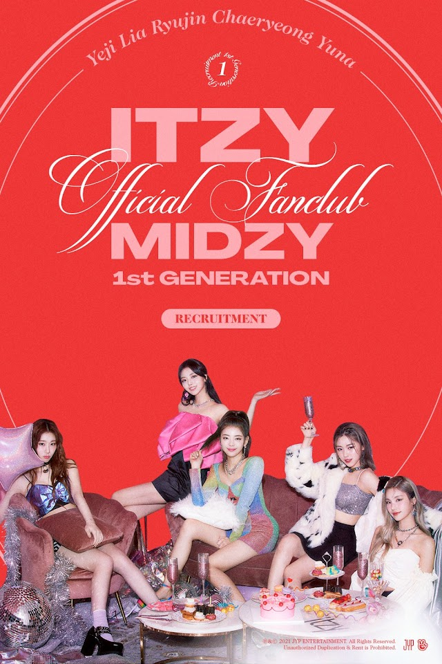 Knetz in love with ITZY Official Fanclub MIDZY 1st Generation poster!