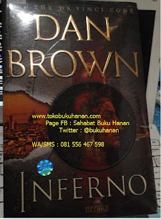 Buku Novel : Inferno : Dan Brown