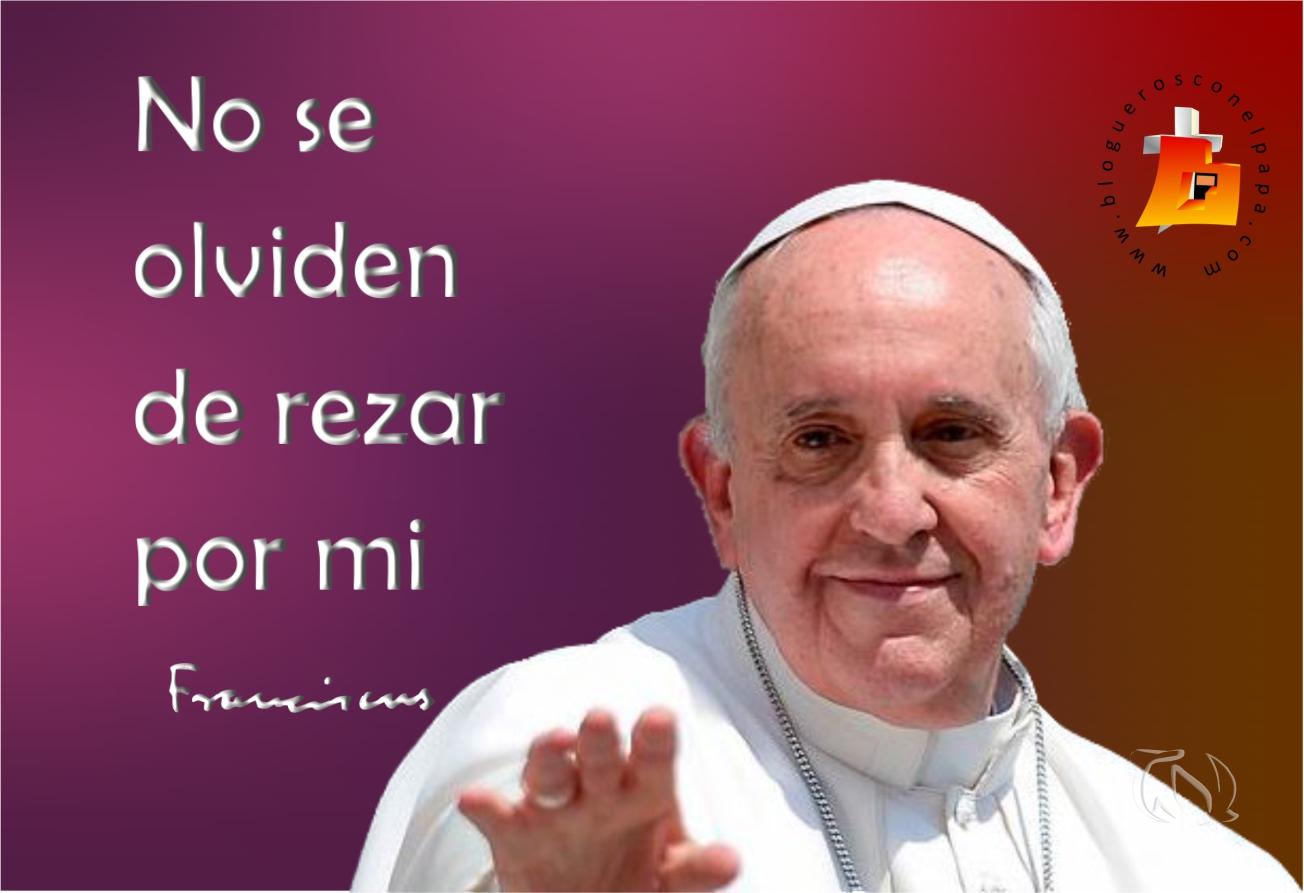 Rezar por el Papa