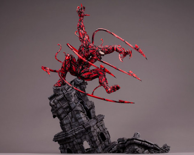 Figuras: Fine Art Statue de Carnage de la línea Marvel Spider-Man - Kotobukiya