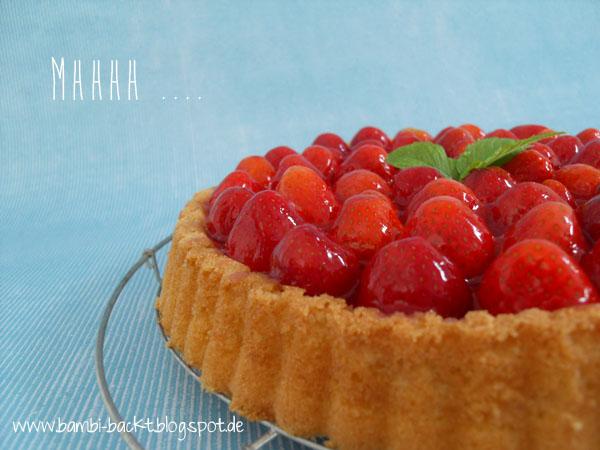Klassischer Erdbeerboden mit rotem Guss nach Omas Rezept | Foodblog rehlein backt
