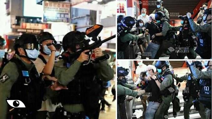 【96大遊行】沒有真普選只有真鎮壓 警方拘捕近300人最小僅13歲