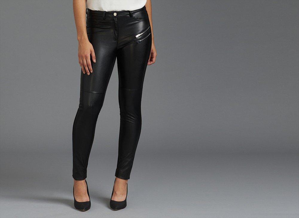DYNAMITE, Pantalon faux cuir