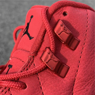 5b705596863f55 Air Jordan 12  Gym Red  2018 Bulls Black Friday Price Retail For Sale 130690-601  - www.anpkick.com