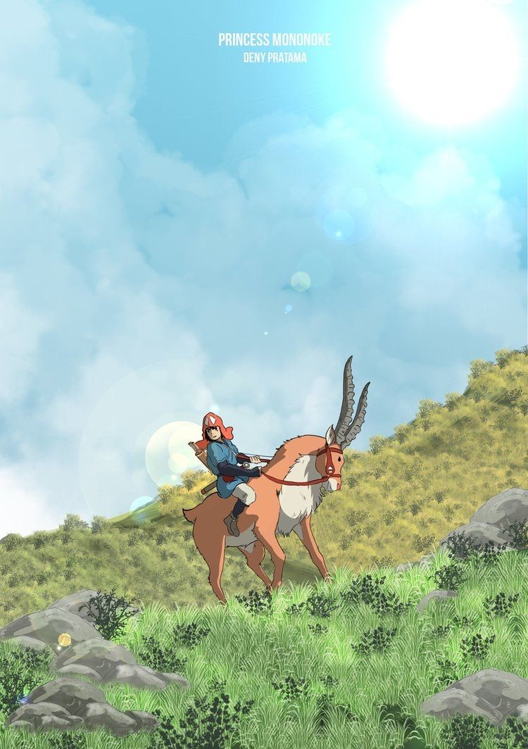 Princess Mononoke hd