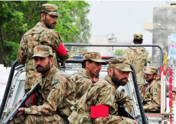 High alert issued by Pakistan army from news of military operation from India